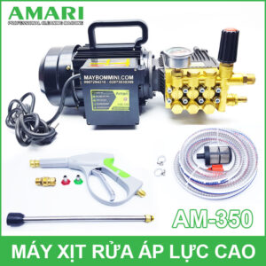 May Xit Rua Ap Luc Cao Amari AM 350 220V 2KW 13L 100bar
