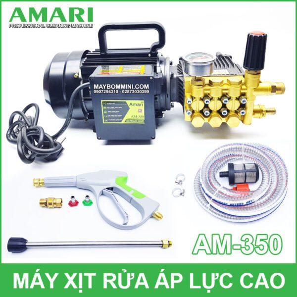 May Xit Rua Ap Luc Cao Amari AM 350 220V 2KW 13L 100bar