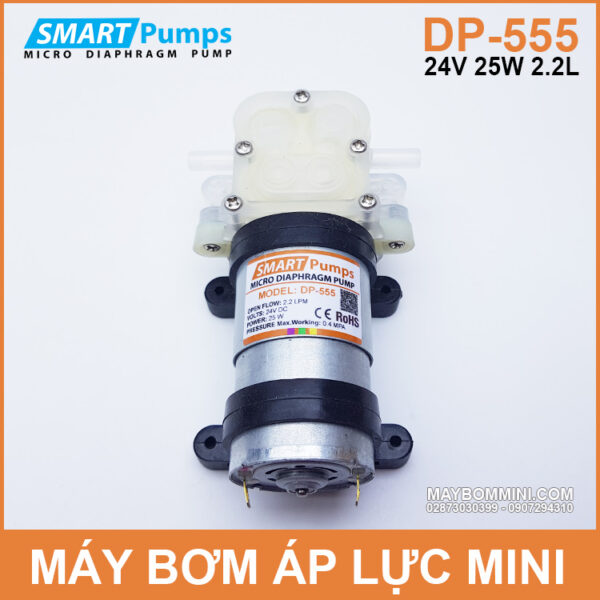May Bom Ap Luc Mini 24V 25W Smartpumps DP 555