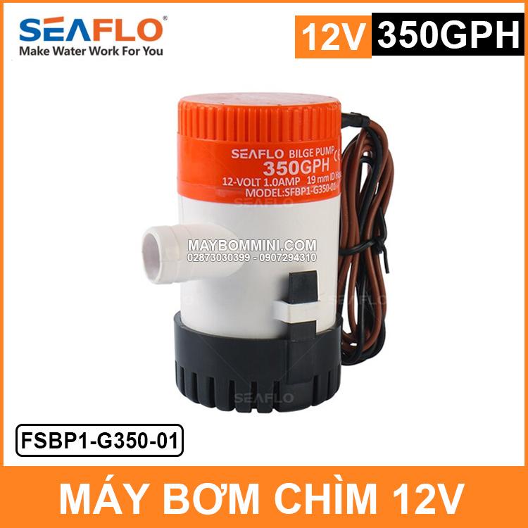 May Bom Chim 12v G350 SEAFLO Chinh Hang
