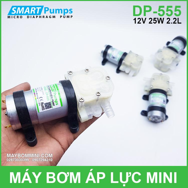 May Bom Thuc Pham Mini 12v