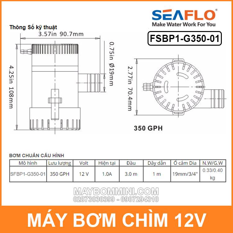 Thong So Ky Thuat May Bom Chim SEAFLO G350