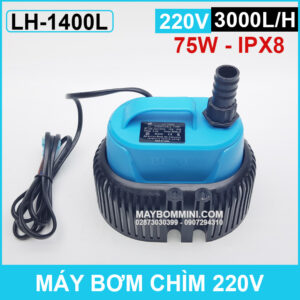 May Bom Chim 220v 75w 3000L