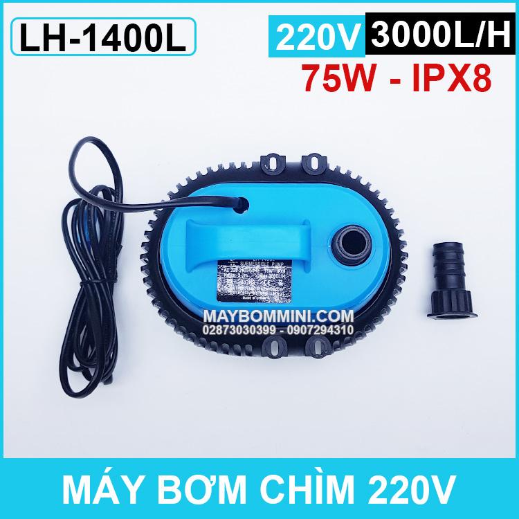 Bom Nuoc Quat Lam Mat Bang Hoi Nuoc 220v