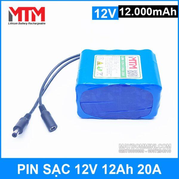Pin Lithium Ion 12v 12ah Gia Re
